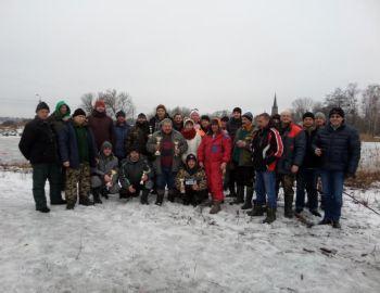 Podlodowe Mistrzostwa Koła Miroków 22.01.2017