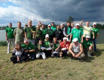 Towarzyskie Zawody Spławikowo-Gruntowe w Całowaniu 1-2.07.2017