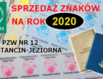 Sprzedaż Znaków na rok 2020